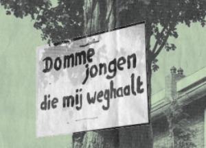 Domme jongen die mij weghaalt stichting De Bomenridders Rotterdam leges bomen kappen