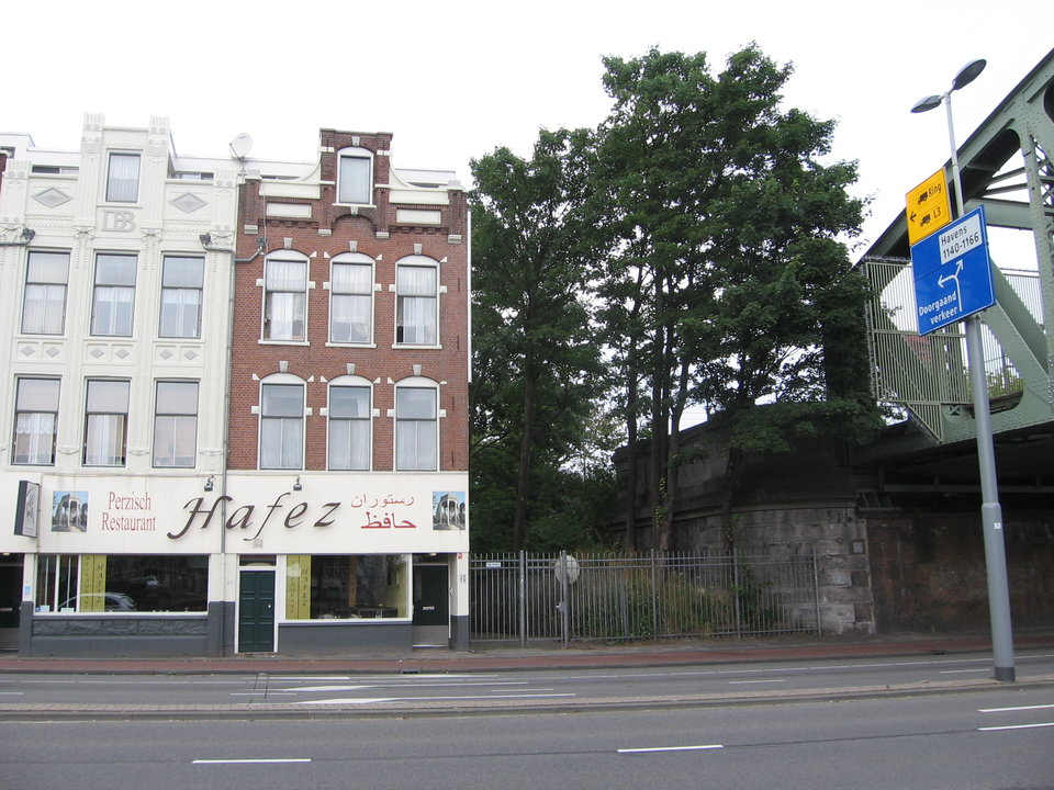 Prins Hendrikkade 56 Noordereiland deelgmeente Feijenoord stadsvilla in plaats van 7 esdoorns stichting De Bomenridders Rotterdam