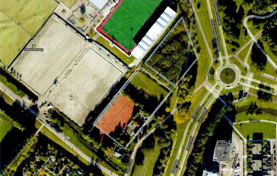 Sport- en gezondheidscentrum Hockeyclub Rotterdam commissie keurt bouw in groen goed stichting De Bomenridders Rotterdam