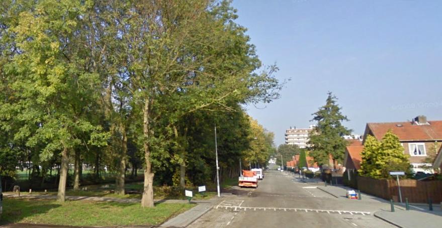 Bomen weg voor pad van nix naar nix