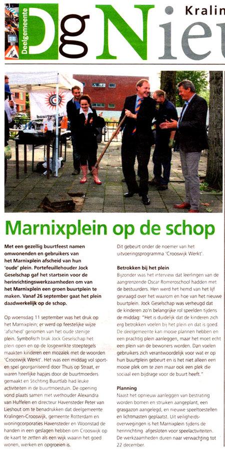 Marnixstraat wordt juist niet groener stichting De Bomenridders Rotterdam