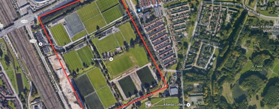 Bomenkap Sportpark Feijenoord