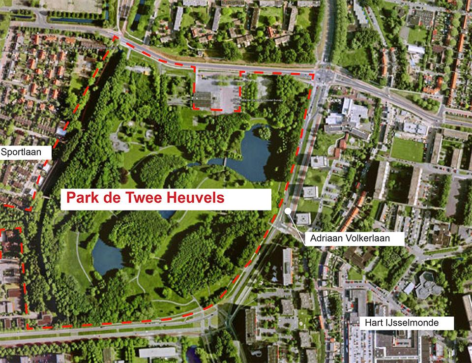 Woningbouw in Park de Twee Heuvels? NEE